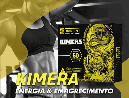 Kimera: o poderoso termogênico da Iridium Labs