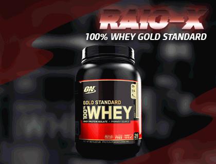RAIO-X 100% Whey Gold Standard