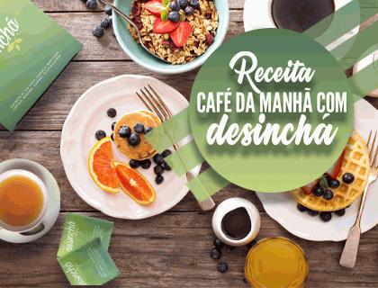 Receita Café da Manhã FITNESS